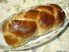 Greek Food Recipes and Reflections: Tsoureki - The Bread That Swallows Its Tail