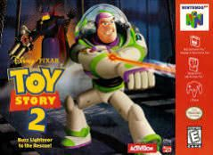Toy Story 2, Disney's - N64 Game