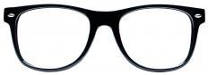 Black Anti-glare glasses