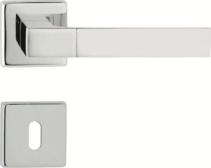 THAIS Door handle with lock by LINEA CALI'