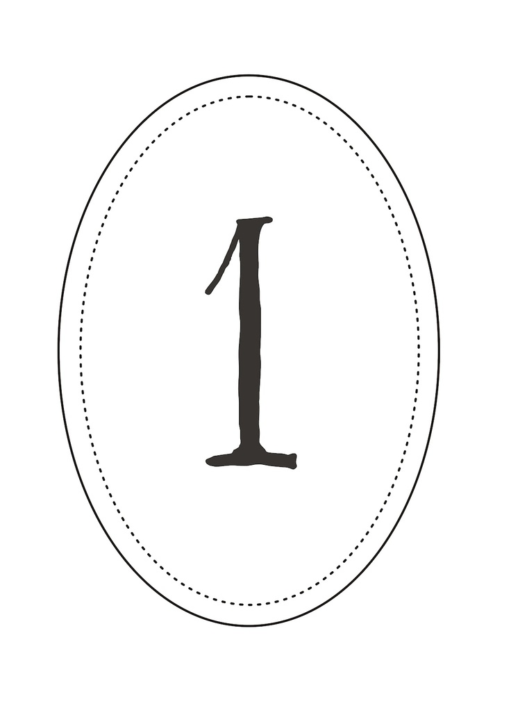 Best 25+ Printable wedding table numbers ideas on Pinterest - numbers templates free