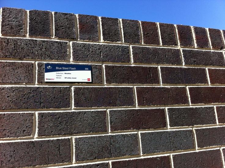 Brick Blue Steel Flash House Facade In 2019 Facade