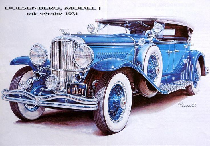 1931 Duesenberg     Classic Европейския кола