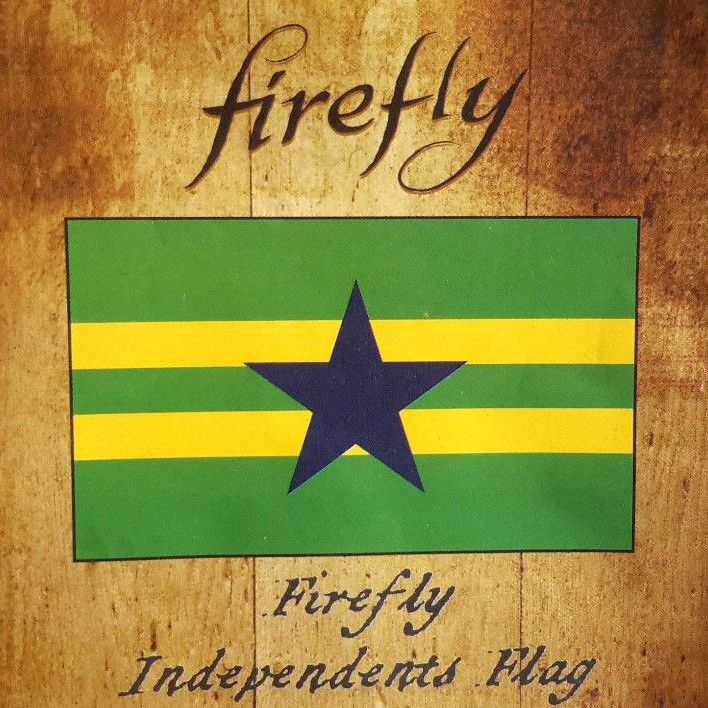 Firefly/Serenity Independents Flag- QMX- 3' x 5'- Packaged-Out of Prod- FREE S&H