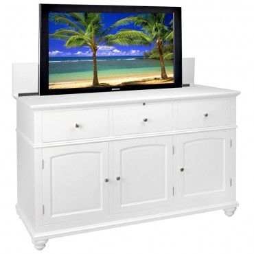 coastal creations tv lift cabinet made by amish craftsmen