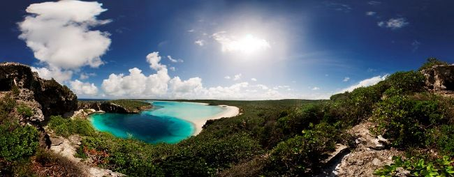 Dean's Blue Hole. Practically in our backyard at Exnihilo Art Center. Great Diving and snorkeling. At over 600ft deep it is home to International Free Divers competitions.