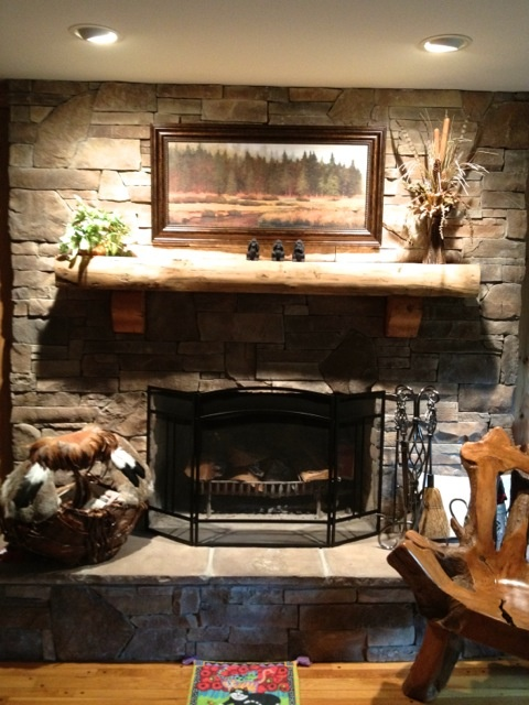 61 best images about beautiful fireplaces on pinterest for Prairie style fireplace