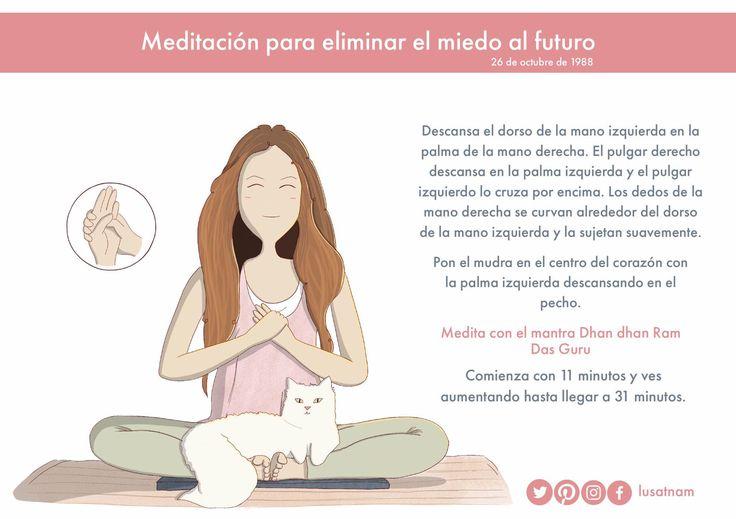 meditación para eliminar el miedo al futuro