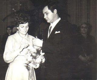 ślub 29 listopada 1969 roku w Tomaszowie Mazowieckim