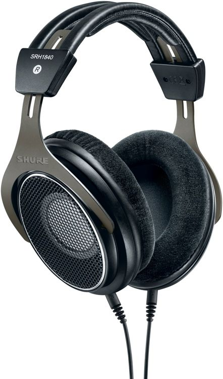 Open-back, Circumaural Headphones with Individually Matched Neodymium Drivers, Adjustable Headband, and Kevlar-reinforced Oxygen-free Copper Cable