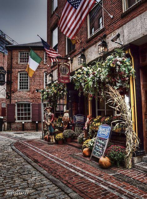 Old Town Boston, Massachusetts