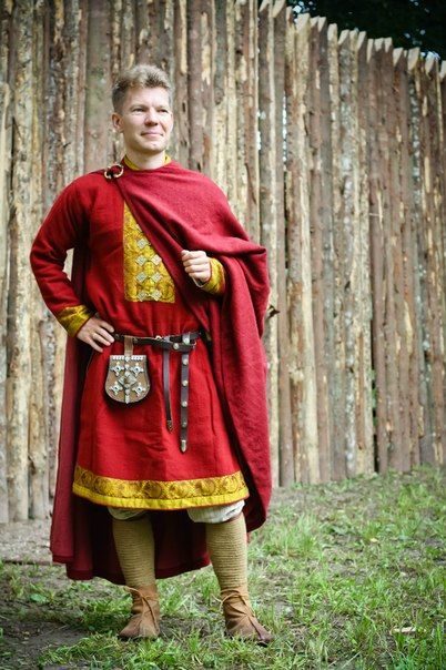 Warrior Of Ancient Russia. 10 - 11th century. Родри Красный