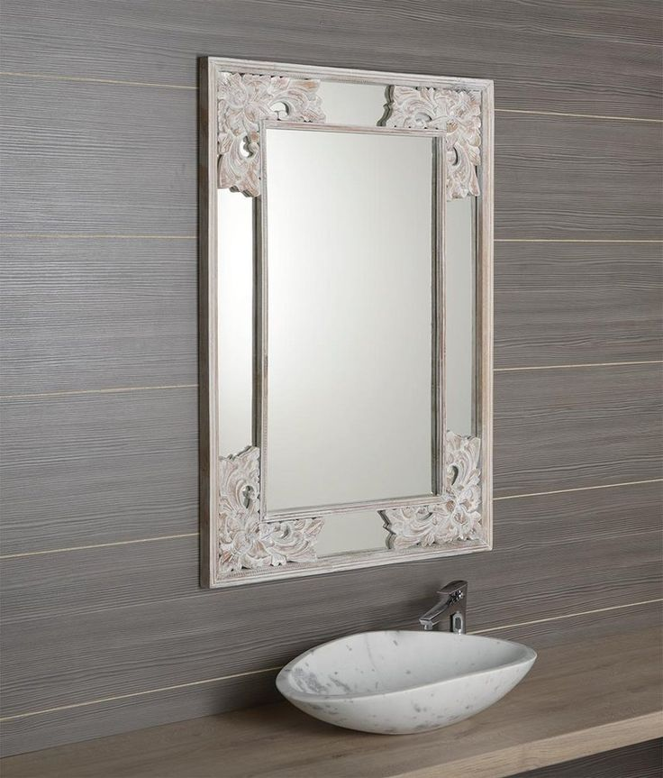 UMIT zrcadlo v rámu, 60x80cm, bílá, SAPHO E-shop