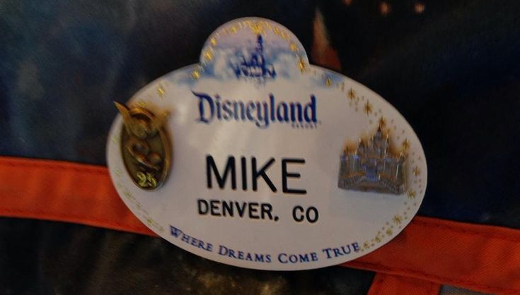 Disney Cast Member Name Tag Pins and Service Awards [Info Graphic] | Disney Dose