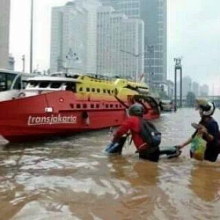 Transportasi banjir