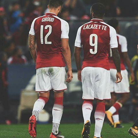 #giroud  #lacazette  #Arsenal #Gunners