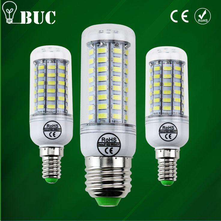 2017 Penuh BARU LED lampu E27 E14 69 leds 72 leds 106 leds SMD 5730 Jagung Bulb 220 V LEDs lamparas led Chandelier Candle light Spotlight