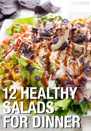 Salad for dinner? YEP!