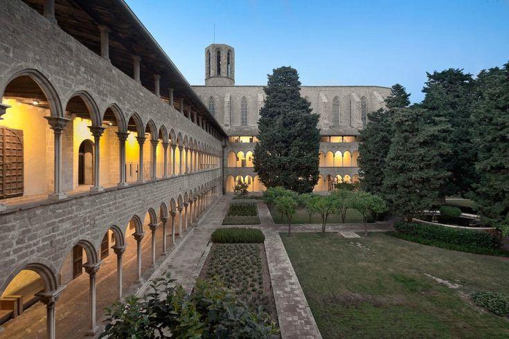 Reial Monestir de Santa Maria de Pedralbes (monastery along the tourist bus route) - Barcelona, Spain