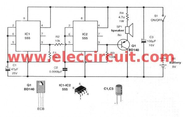 555-siren-sound-generator-circuit