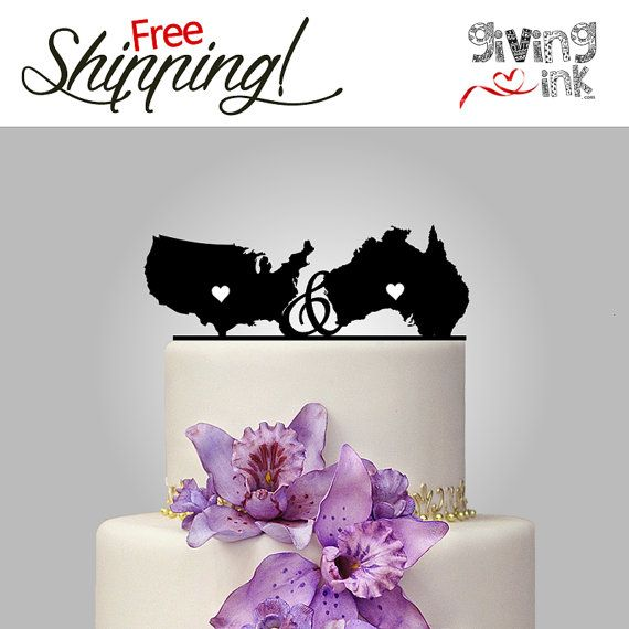country wedding cake toppers australia 15 best custom and personalized cake toppers images on 13005