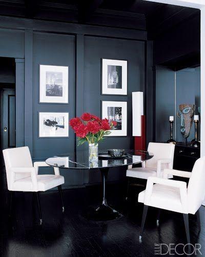 63 best black & white dining room images on pinterest | white