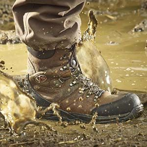 Safety footwear for all types of weather including the Waterproof V12 Rocky Safety Boots.