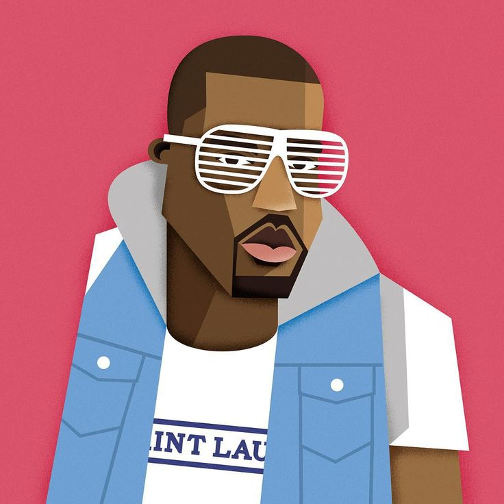 Kanye West Aka Quot Yeezy Quot Kanyewest Yeezy Illustration