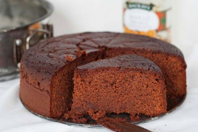 Huis, tuin en keukenvertier: Chocolade sinaasappeltaartje