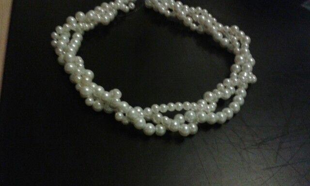 Colana perle.