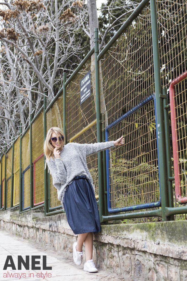 Γυναικείες φούστες από τις νέες αφίξεις της κολεξιόν Χειμώνας 2014 της ANEL Fashion !