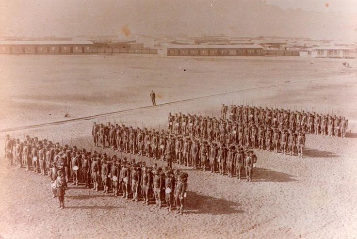 Batallón Cívico de Artillería Naval, 1ª Compañía, Antofagasta