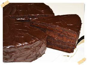 Tarta Bomba de Chocolate (Basada en la Película de Matilda - 1996)