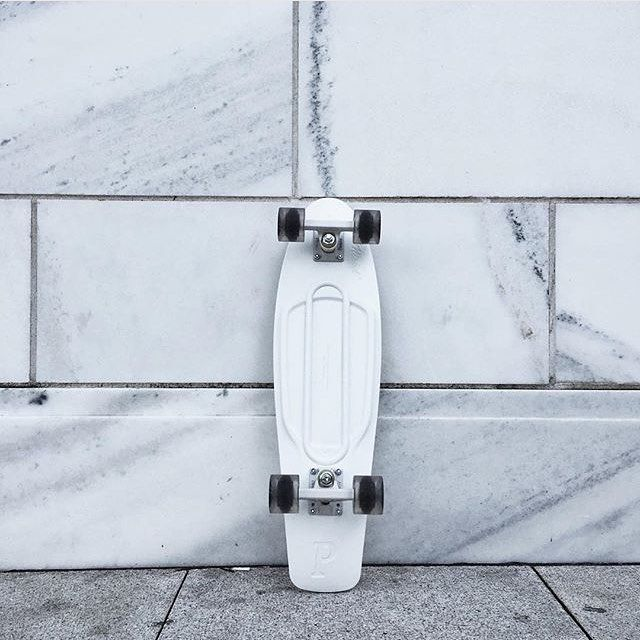 White penny board