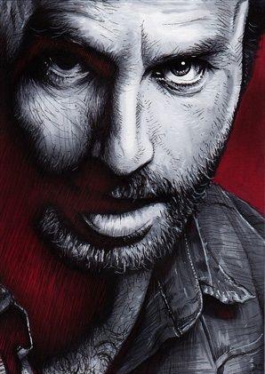 The Walking Dead - Rick Grimes https://www.facebook.com/ZombieCPC
