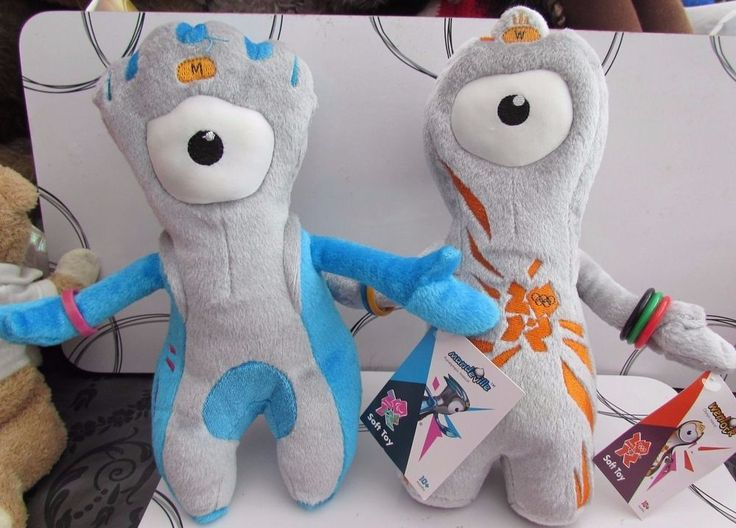Paralympic Mascot and Olympic Mascot London 2012 collectible soft toy  | eBay