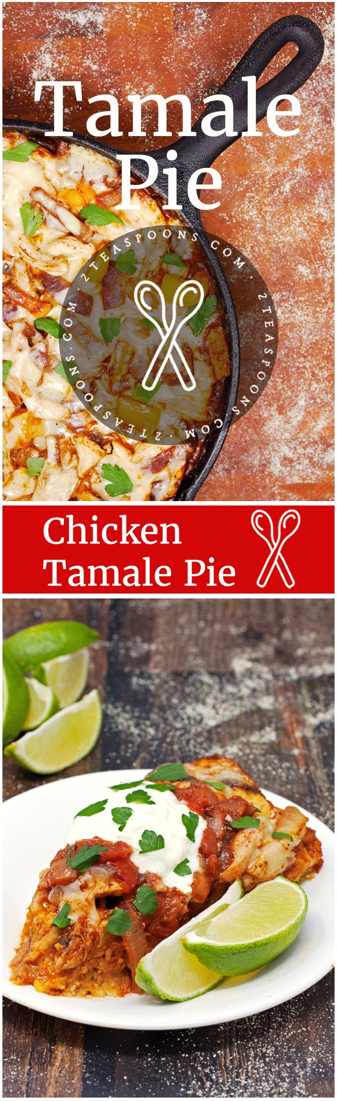 Chicken Tamale Pie - 2teaspoons