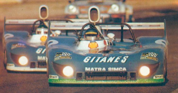 Matra 670b Larrousse 1974