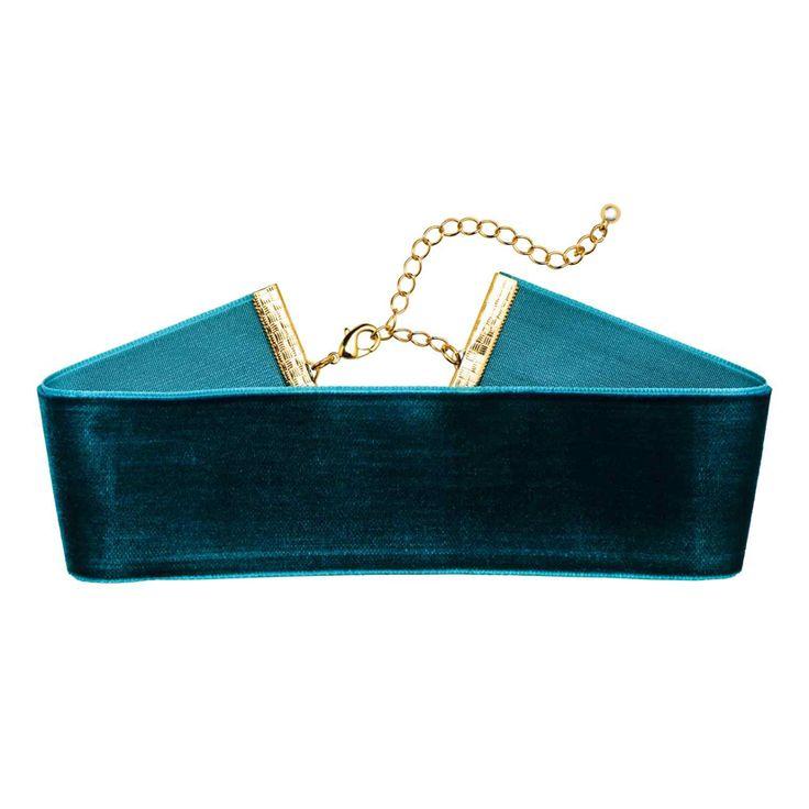 Ras-de-cou en velours, de H&M - Shopping mode: 34 bijoux pour les fêtes
