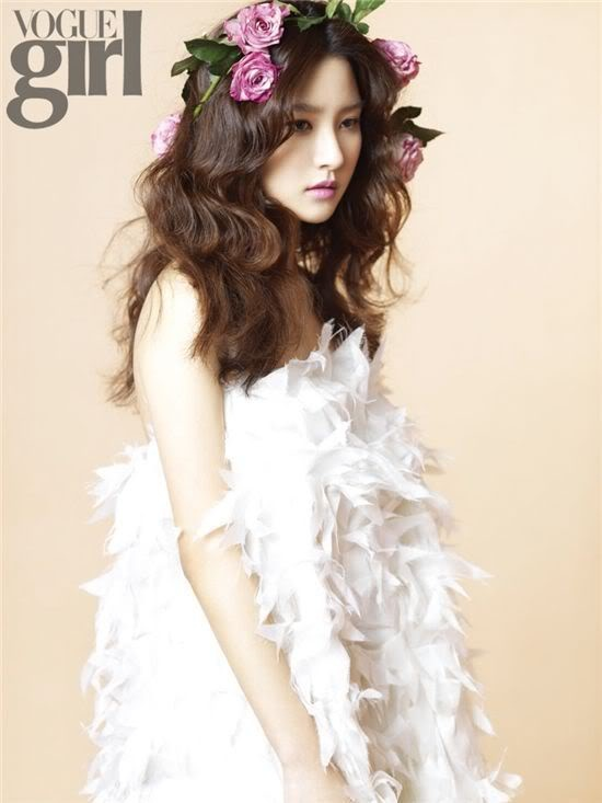 Korean vogue girl