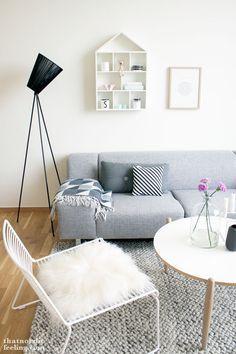 Via That Nordic Feeling | Grey White | HAY Hee Chair (leuk kleed)
