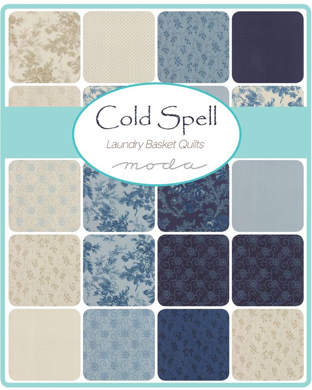 Cold Spell Prints By Laundry Basket Quilts For Moda Moda