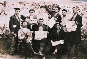 Κρατούμενοι στις φυλακές της Αίγινας, την περίοδο που ίσχυε το «Ιδιώνυμο»Πηγή έμπνευσης του Ιδιωνύμου υπήρξαν άλλοι αντεπαναστατικοί νόμοι που είχαν προηγηθεί σε χώρες της Ευρώπης και ιδιαίτερα ο νόμος κατά των σοσιαλιστών που εφάρμοσε ο Βίσμαρκ στη Γερμανία. «Χωρίς να φτάνει ως τη ρητή απαγόρευση της λειτουργίας του ΚΚΕ - γράφει ο Ν. Αλιβιζάτος12- το ''Ιδιώνυμο'' του 1929 υπήρξε εξίσου αυστηρό σε σχέση με τις ''αντιανατρεπτικές'' διατάξεις άλλων ευρωπαϊκών νομοθεσιών, στις δεκαετίες του…