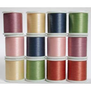 K O Beading Thread Color Assortments Made by beadartjewelrysupply, $42.00