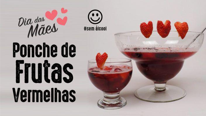 Como fazer Ponche de Frutas Vermelhas Sem Álcool