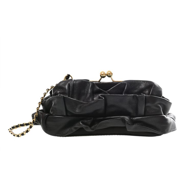 MOSCHINO CHEAPANDCHIC CLUTCH, 110 Euro.