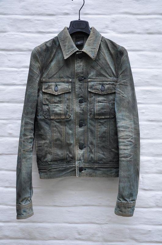 Couture Denim_Dior Homme Jacket (Men's Pre-owned Hedi Slimane Denim Coat)
