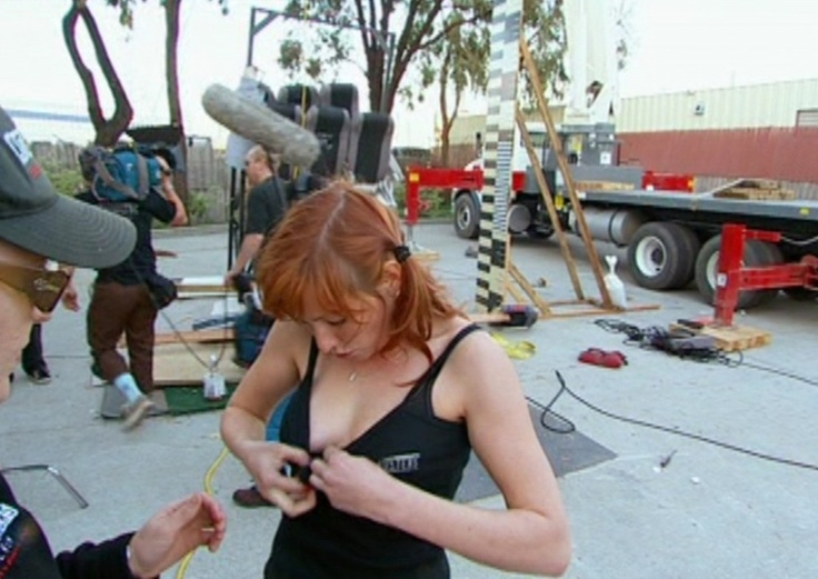 Kari Byron  MythBusters  Discovery Kari byron naked and afraid