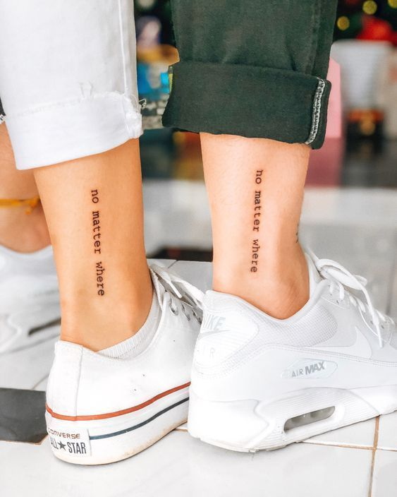 Tattoo Frases; inspirational tattoo quotes; Quote tattoos  – Michelle Freundschaft tattoo