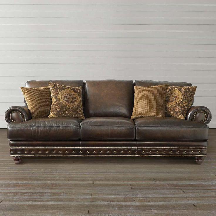 callahan sofa bassett furniture design pinterest brown leather furniture and brown. Black Bedroom Furniture Sets. Home Design Ideas